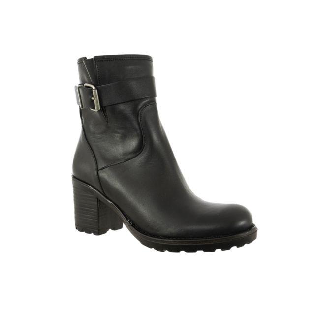E-cow bottes et bottines piquet crest noir