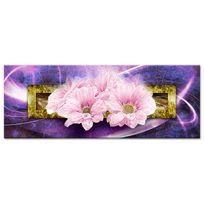 Declina - Achat en ligne tableau cadre fleurs sur toile - Décoration