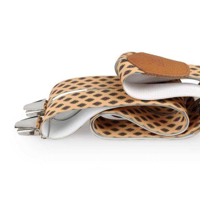 Les Bretelles De LÉON Bretelles Larges Nid d'Abeilles - Les Bretelles de Léon