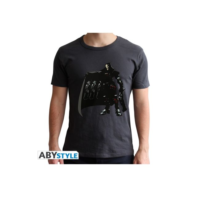 Abystyle Overwatch - T-shirt Faucheur homme Mc black - new fit