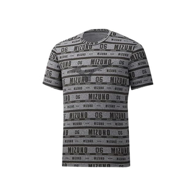 Mizuno T shirt à manches courtes Heritage Full Graphic Tee