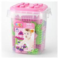 Baby Smile - Baril 100 Briques Fille