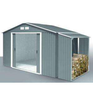 bgscd abri de jardin m tal duramax titan 2 61 x 1 82 m abri b ches m tal 2 62 x 1 08 m. Black Bedroom Furniture Sets. Home Design Ideas