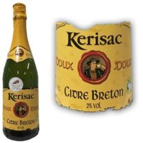 Ecusson - Cidre Kerisac doux 2 70cl