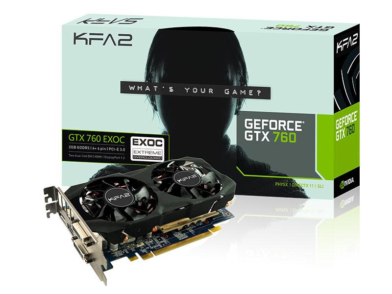 GeForce GTX760 EXOC 2Go V2