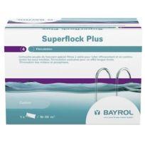 BAYROL - cartouche de floculant pour filtre à sable 1kg - superflock plus