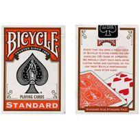 Bicycle - Jeu à dos Orange