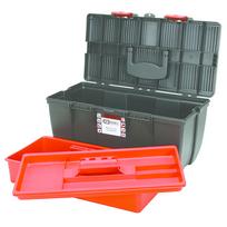 Ks Tools - Boîte à outils de technicien en plastique, L500 X P268 X H230 avec plateau de rangement 999.0110