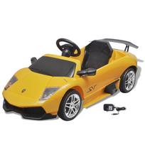 Justdeco - Superbe Voiture électrique 6 V Lamborghini Murcielago Lgo Lp 670-4SV jaune neuf