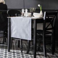 Alexandre Turpault - Chemin de table Honoré Fusain 50×150