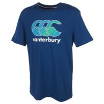 Canterbury - Tee shirt manches courtes Graphic logo tee mc bleu Bleu 78669