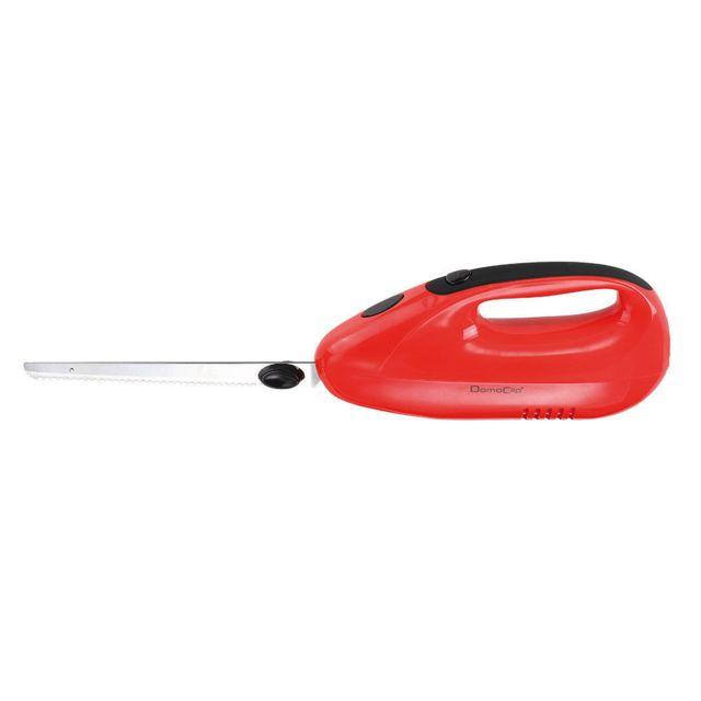 DOMOCLIP Couteau électrique rouge DOM360R