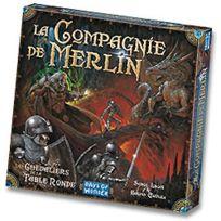 Days Of Wonder - Jeux de société - Les Chevaliers De La Table Ronde : La compagnie de Merlin