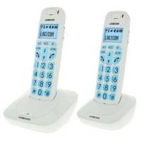 Logicom - Confort 250 Duo Blanc