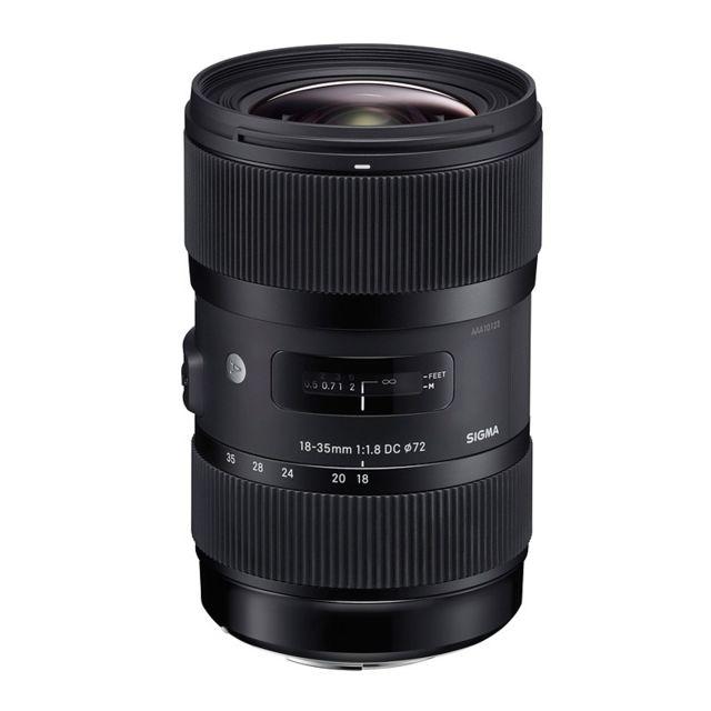 Sigma Objectif 18-35 mm f/1.8 Dc Hsm Art Pentax