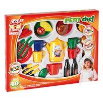 Funny Home - Coffret 40 accessoires de dinette