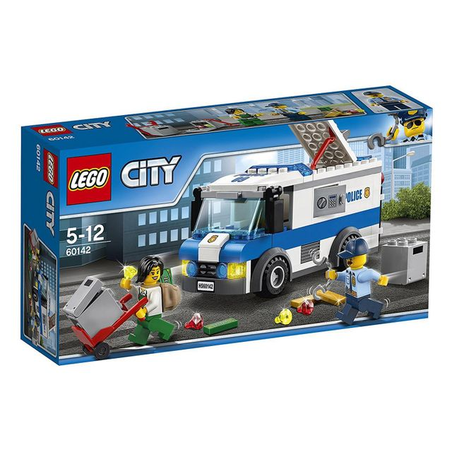 lego 60142 city le convoyeur de fonds pas cher achat. Black Bedroom Furniture Sets. Home Design Ideas