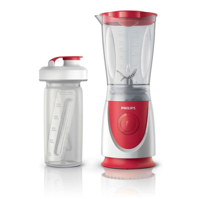 PHILIPS Mini-blender Daily Collection + Gourde HR2872/00