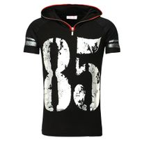 Young And Rich - Tee shirt mode homme T-shirt Yr1487 noir