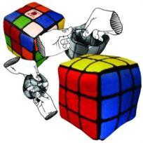 Toy Vault - Rubik - Peluche Rubik'S RÉVERSIBLE 12CM