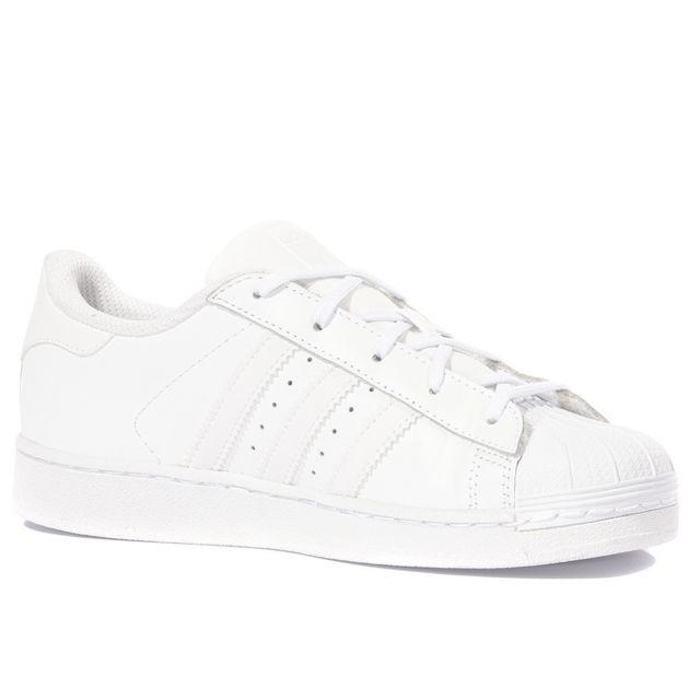 adidas blanche superstar