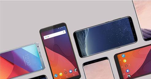 Découvrez les smartphones sans bords