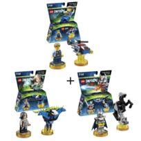 Fantastiques Miniature Lego De 3 Figurine Batman Animaux Personnage Pack Figurines DimensionsCityLes Excalibur kn0wOPNX8