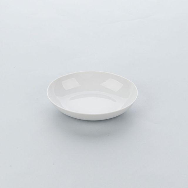Materiel Chr Pro Assiette Creuse Porcelaine Blanche Apulia Ø 210 mm - Lot de 6 - Stalgast - 21 cm Porcelaine