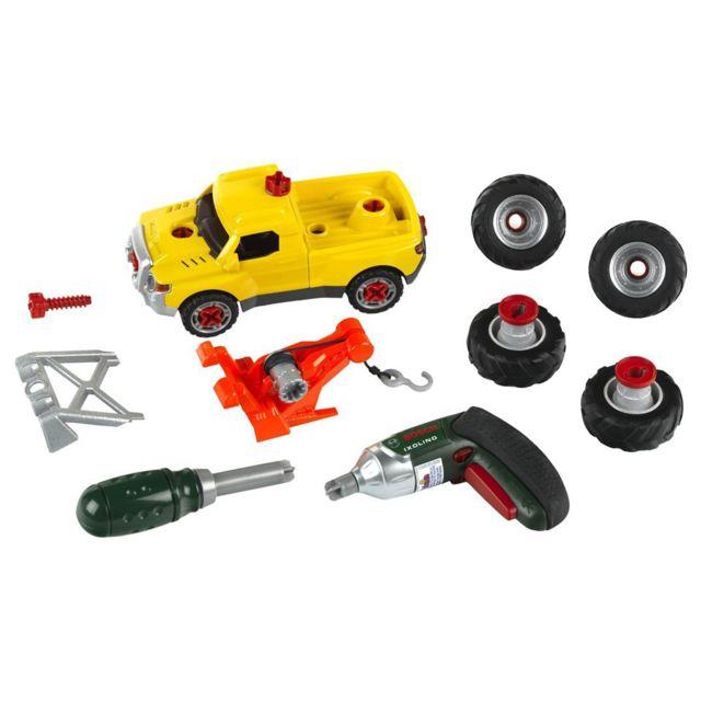 Klein Set de montage voiture 3 en 1 Bosch