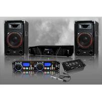 Ibiza Sound - Pack Sono Dj numérique complet avec mico Dj-501-N