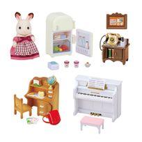 Sylvanian Families - Set ameublement et figurine pour cottage - 5220