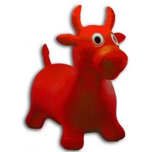 Ballon sauteur vache enfant rouge pogo jouet bébé