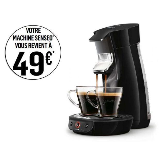 PHILIPS Machine à café à dosettes Senseo Viva HD7829/63