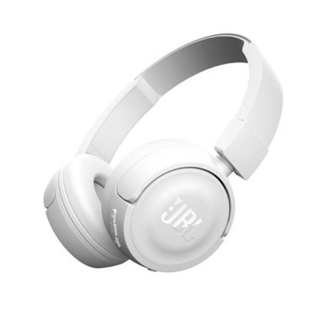 Jbl Casque audio - T450BT - Blanc pas cher
