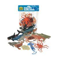 Wild Republic - 11 Piece Aquatic Figure Collection