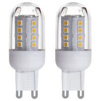 Eglo - Lot de 2 ampoules Led culot G9 2.5W = 28W