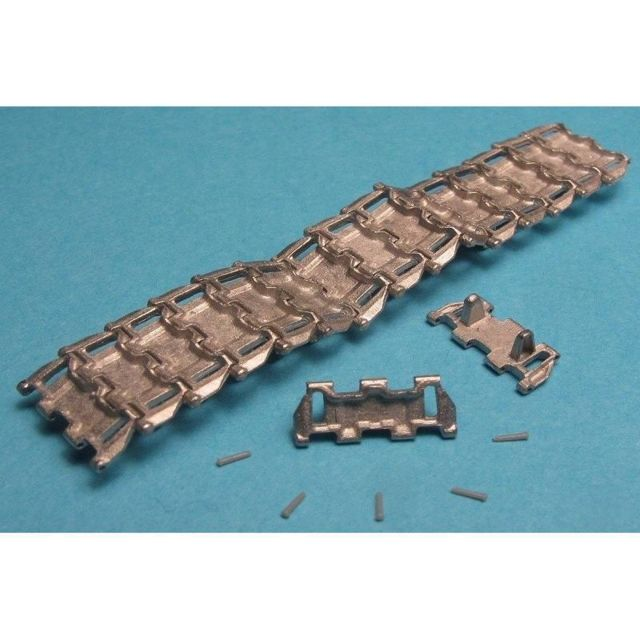 Masterclub Workable Metal Tracks And Drive Sprockets For Pt-76, Btr-50, Asu-85 - Accessoire Maquette