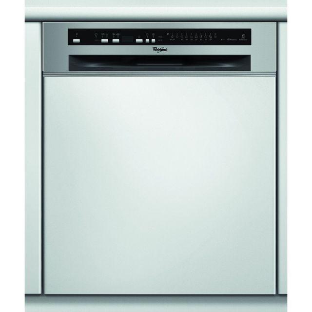 whirlpool adg 2020 ix lave-vaisselle encastrable - 59.7 cm - inox