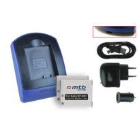 mtb more energy® - 2 Batteries + Chargeur USB, Np-bn1 pour Sony Cyber-shot Dsc-tx7, Tx9, Tx10, Tx20