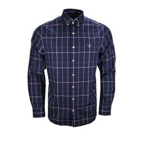 gant chemise carreaux bleu marine verte et blanche pour homme pas cher achat vente. Black Bedroom Furniture Sets. Home Design Ideas