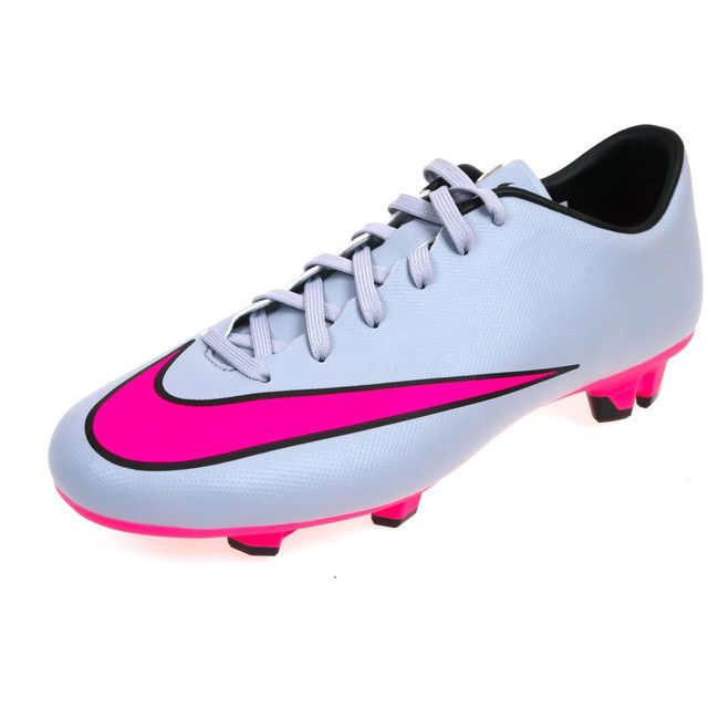 131754284ee Nike - Chaussures football lamelles Mercurial victory rse Rose 48235 ...