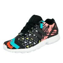Zx Flux W Chaussures Mode Sneakers Femme Multicolor
