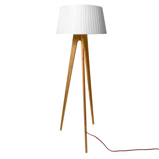 rendez vous deco lampadaire tr pied freya bois clair. Black Bedroom Furniture Sets. Home Design Ideas