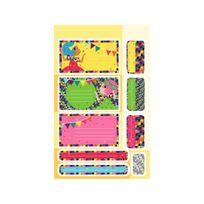 Maildor - Carnet 94 Étiquettes Autocollantes Ecole et Quotidien - Fille