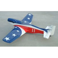 AUTRES - P-51 Mustang Miss America 1460mm ARF