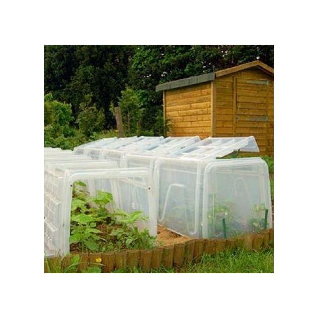 pouss vert mini serre tunnel de culture modul 39 o 60 kit. Black Bedroom Furniture Sets. Home Design Ideas