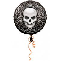 Party Showroom - Ballon TÊTE De Mort Monster High - pas cher Achat ... 6d6438cec114