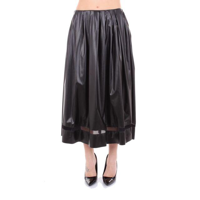 Vionnet Femme 004T723010501 Noir Polyester Jupe
