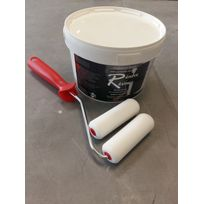 Bouchard Peintures - Peinture Résine Colorée Multisupport Ral 9001 - Renove Resine 0,5L + Kit d'application Offert