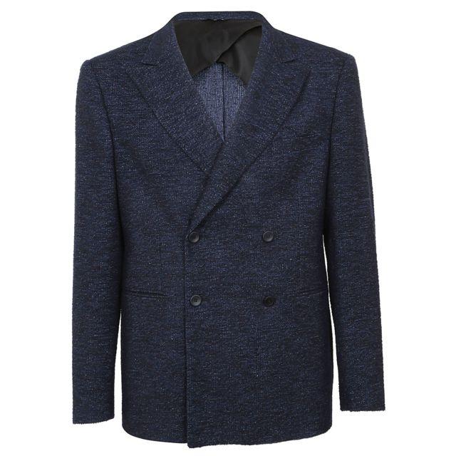 Tonello Homme 06G456Y6947U600 Bleu Laine Blazer